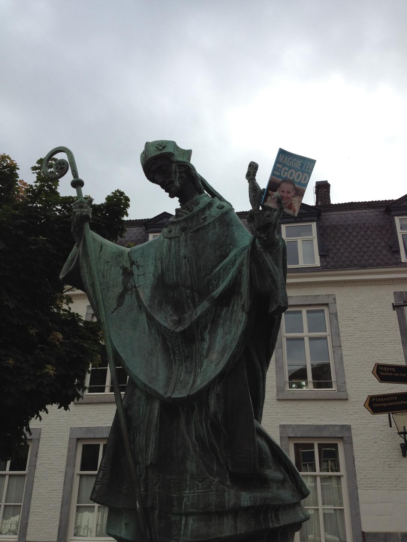 Maastricht, Netherlands Statue- Great Lit Taste