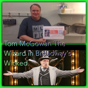 Wicked's Wizard Tom McGowan